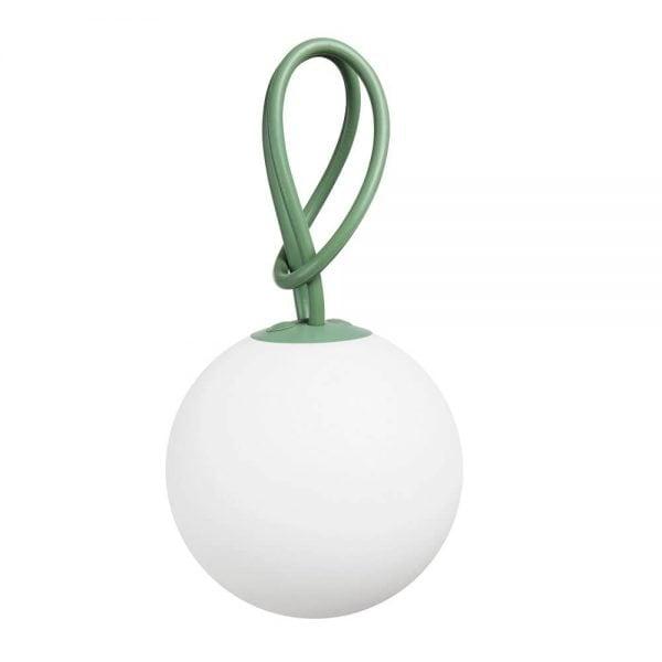 Bolleke lampe fra Fatboy i farge grønn