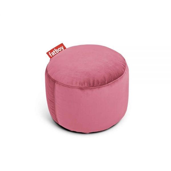 Fatboy puff Point Velvet i farge deep blush mørk rosa ekstra myk fløyel